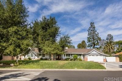 Northridge Single Family Home For Sale: 19429 Mayall Street