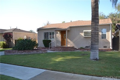 Burbank Single Family Home Active Under Contract: 631 N Maple Street
