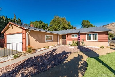 Sylmar Single Family Home For Sale: 13700 Linfield Avenue