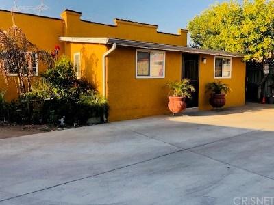 Sun Valley Single Family Home For Sale: 11721 W Pendleton Street