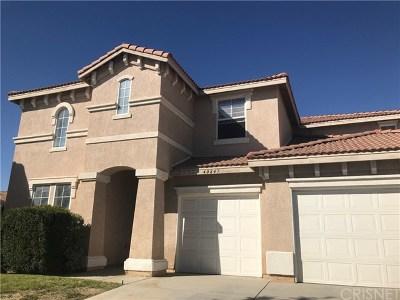 Lancaster, Palmdale, Quartz Hill Single Family Home For Sale: 40247 Preston Road