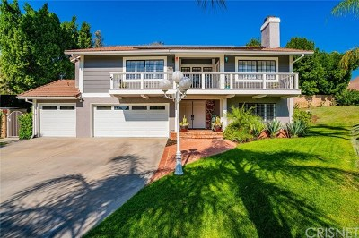 Granada Hills Single Family Home For Sale: 17341 Flower Hill Circle