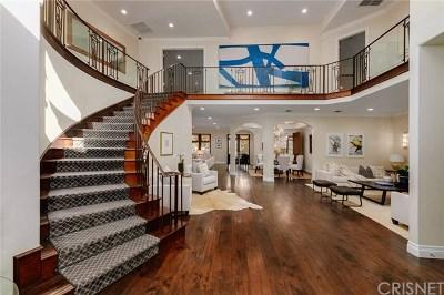 Sherman Oaks Single Family Home For Sale: 3812 Woodcliff Road
