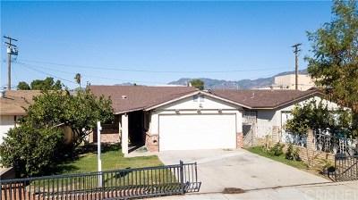 San Fernando Single Family Home Active Under Contract: 939 N Macneil Street