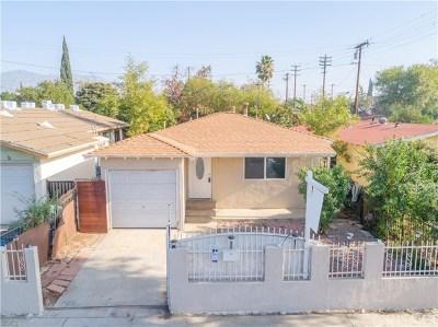 San Fernando Single Family Home For Sale: 1411 Hollister Street