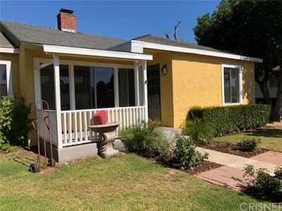 Reseda Single Family Home For Sale: 18621 Victory Boulevard #1