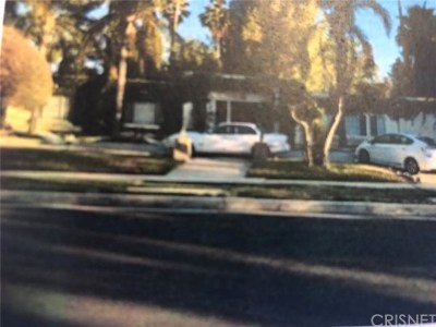 Northridge Single Family Home For Sale: 17552 Gledhill Street