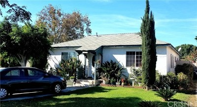 North Hollywood Single Family Home For Sale: 7513 Kraft Avenue