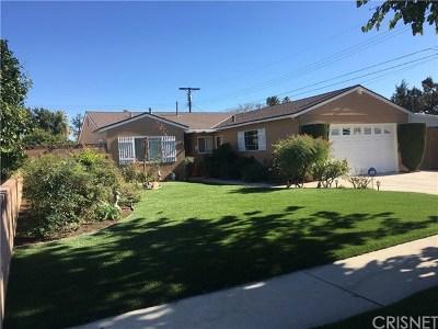 North Hills Single Family Home For Sale: 8748 Valjean Avenue