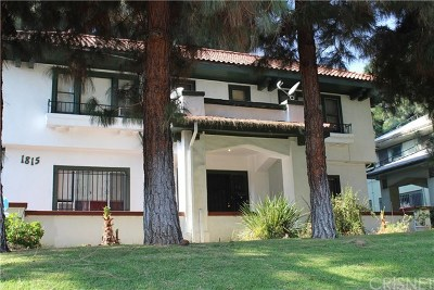 Hollywood Single Family Home For Sale: 1815 N Wilton Place