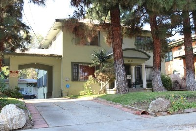 Hollywood Single Family Home For Sale: 1821 N Wilton Place