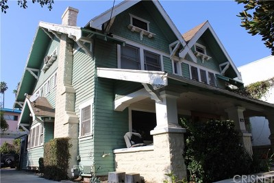 Hollywood Single Family Home For Sale: 1833 N Wilton Place