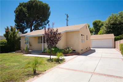 Van Nuys Single Family Home For Sale: 6307 Langdon Avenue