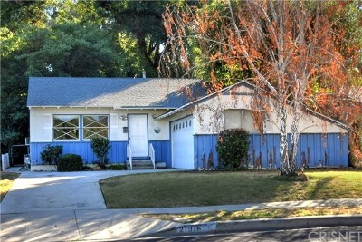 Woodland Hills Single Family Home Active Under Contract: 21016 Costanso Street