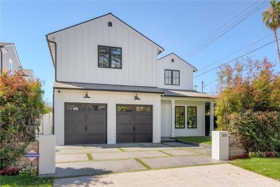 Valley Village Single Family Home For Sale: 5155 Bellaire Avenue
