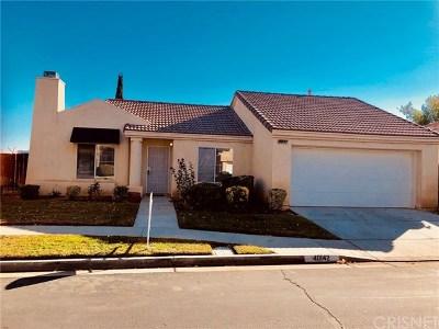 Lancaster, Palmdale, Quartz Hill Single Family Home For Sale: 40142 La Cota Drive
