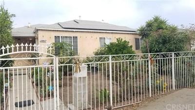 Pacoima Single Family Home For Sale: 12857 Osborne Street