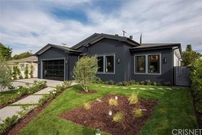 Sherman Oaks Single Family Home For Sale: 4654 Halbrent Avenue