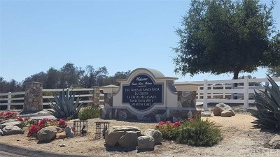 Murrieta Residential Lots & Land For Sale: 39450 Paseo Chaparro