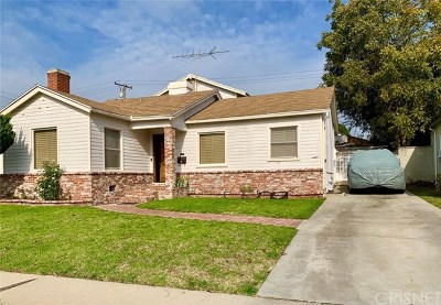 Inglewood Single Family Home For Sale: 617 W Hillsdale Street