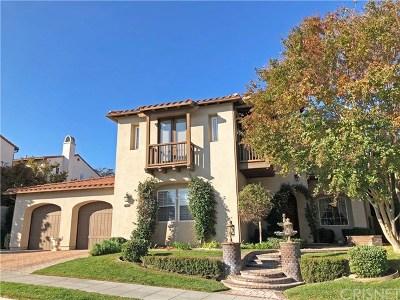 Valencia Single Family Home For Sale: 27011 Mirasol Street