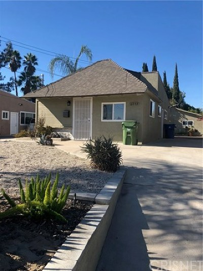 North Hollywood Single Family Home For Sale: 6059 Cleon Avenue