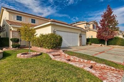 Stevenson Ranch Single Family Home For Sale: 26061 Salinger Lane