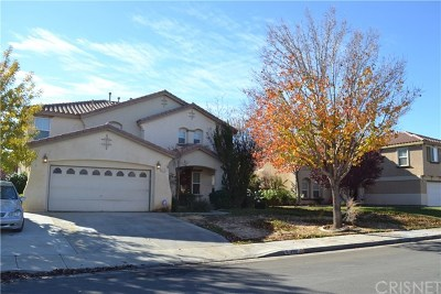 Quartz Hill Single Family Home For Sale: 4316 Norval Avenue