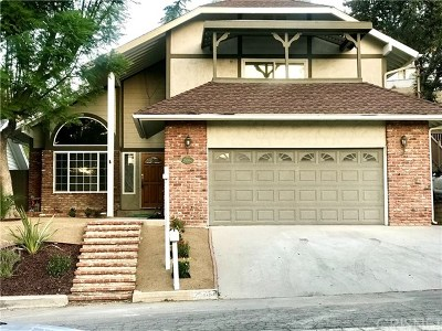Newhall Single Family Home For Sale: 25084 Vermont Drive