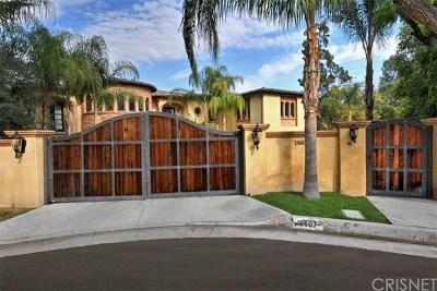 Tarzana Single Family Home For Sale: 18607 Cassandra Street