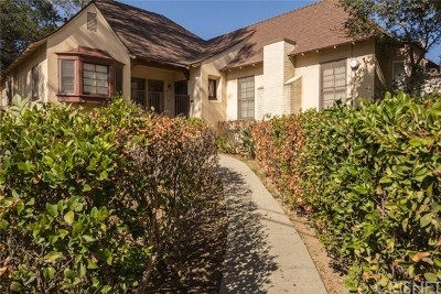 Glendale Single Family Home For Sale: 2101 Bonita Drive