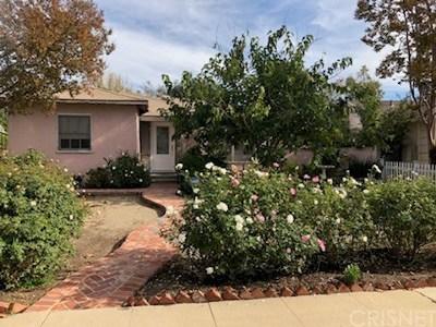 Sherman Oaks Single Family Home Active Under Contract: 5136 Varna Avenue