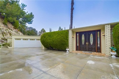 Encino Single Family Home For Sale: 15641 High Knoll Road