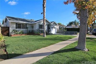 Encino Single Family Home For Sale: 5636 Lasaine Avenue