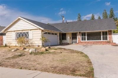Canoga Park Single Family Home For Sale: 22315 Hart Street