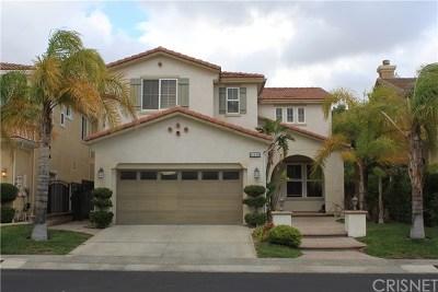 Porter Ranch Single Family Home Active Under Contract: 11450 Santini Lane