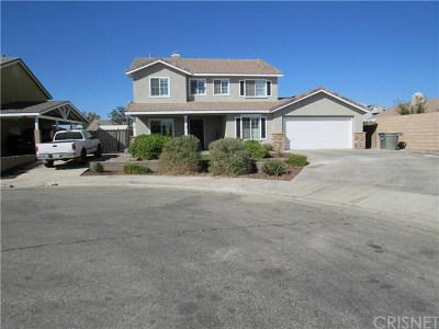 Rosamond Single Family Home For Sale: 2145 Candlebush Court