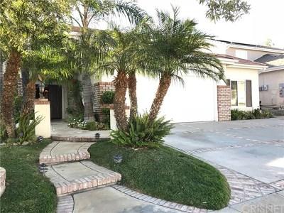 Stevenson Ranch Single Family Home For Sale: 26043 Salinger Lane