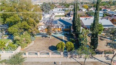 San Fernando Single Family Home For Sale: 11758 Glenoaks Boulevard