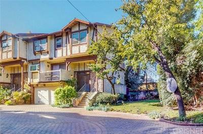 Encino Condo/Townhouse For Sale: 15610 Moorpark Street #7