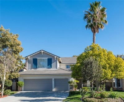 Acton, Canyon Country, Castaic, Newhall, Saugus, Santa Clarita, Stevenson Ranch, Valencia, Agua Dulce Single Family Home For Sale: 27636 Yardley Way