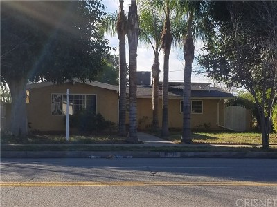 Granada Hills Single Family Home Active Under Contract: 15708 Chatsworth Street