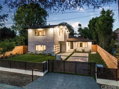 Sherman Oaks Single Family Home For Sale: 13135 Addison Street