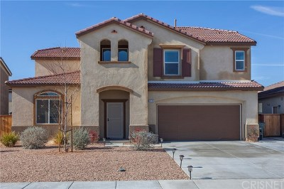 Rosamond Single Family Home For Sale: 2529 Mammoth Mountain Way