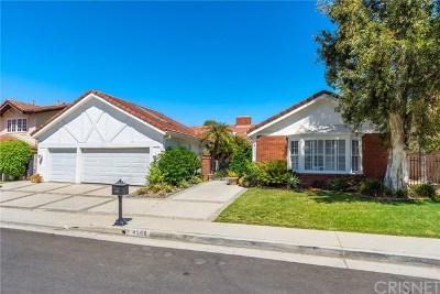 Woodland Hills Single Family Home For Sale: 4500 Dulcinea Court