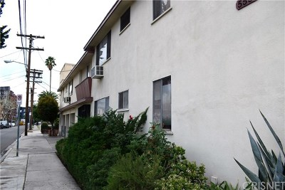 North Hollywood Multi Family Home For Sale: 11120 Burbank Boulevard