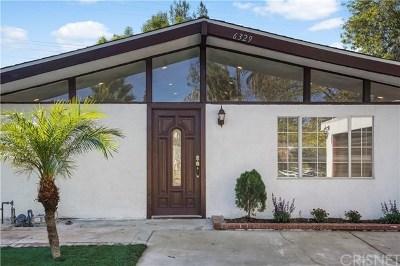 Woodland Hills Single Family Home For Sale: 6329 Jumilla Avenue