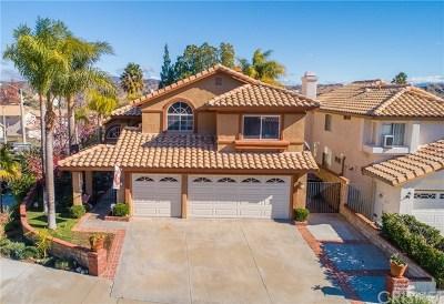 Castaic Single Family Home For Sale: 29972 Muledeer Lane