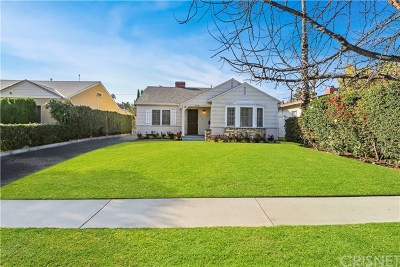 North Hollywood Single Family Home For Sale: 5735 Beck Avenue