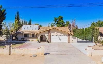 Pearblossom Single Family Home For Sale: 13235 E Avenue W11